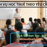 Dịch Vụ Học Thuê Tại Thành phố Hồ Chí Minh