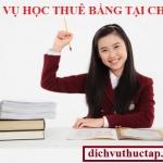 Dịch Vụ Học Thuê bằng đại học tại chức ở Tphcm